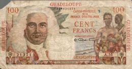 BILLET 100 FRANCS GUADELOUPE - Non Classés