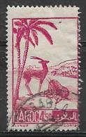 French Morocco 1947. Scott #212 (U) Scimitar-horned Oryxes - Oblitérés