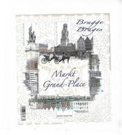 BL 203 BRUGGE  Markt /  Blok Gedrukt In KANT - Bloc  Imprim. En DENTELLES - Nuevos