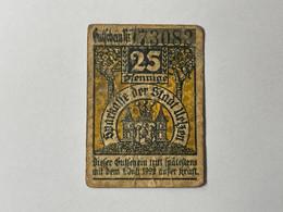 Allemagne Notgeld Uelzen 25 Pfennig - Collezioni