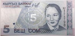 Kyrgyzstan - 5 Som - 1997 - PICK 13 - NEUF - Kirgisistan
