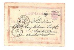 AMSTERDAM-AMSTELSTRAAT 1872 > Zuylekom Levert (Likeurfabriek) Westerstraat (FE-2) - Poststempel
