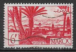 French Morocco 1947. Scott #231 (U) Marrakesh - Oblitérés