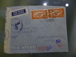 TIPO HÉLICE - CORREIO AÉREO - CENSURAS (WWII) - Briefe U. Dokumente