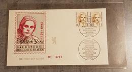 GERMANY BERLIN 1988 FDC FAMOUS WOMEN - FDC: Enveloppes