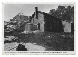 Alta Valle Di Rhemes (Aosta). Rifugio Benevolo. - Aosta
