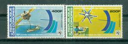 REPUBLIQUE DES  COMORES - P.A. N° 145** MNH Et N° 146** MNH  SCAN DU VERSO - 10° Journée Mondiale Des Télécommunications - Comoros