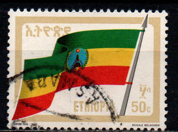 ETIOPIA - 1990 - BANDIERA NAZIONALE - USATO - Äthiopien