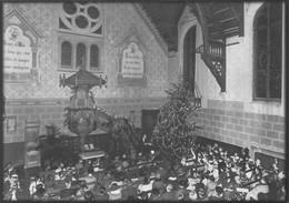 Reproduction: Lausanne Centenaire Du Temple De Chailly - Intérieur En 1925 ( 10 X 15cm) - VD Vaud