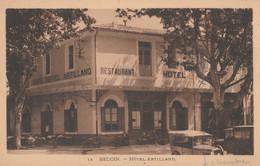 CPA 84 BEDOIN  VUE GENERALE HOTEL ARTILLAND AUTOS - Zonder Classificatie
