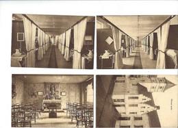 11 Oude Postkaarten KORTRIJK : 8 Stuks Van De SOEURS PAULINES En 3 Stuks Van INSTITUT DES DAMES DE ST. NICOLAS - Eeklo