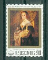 REPUBLIQUE DES  COMORES - P.A. N° 149** MNH SCAN DU VERSO - 400° Anniversaire De La Naissance De P.P. Rubens (II). - Comoros