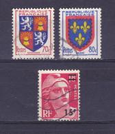 TIMBRE FRANCE N° 958/959/968 OBLITERE - Usados