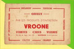 BUVARD&Blotter Paper:  Produits D'Entretien Vernis VROONE WATTRELOS - Paints
