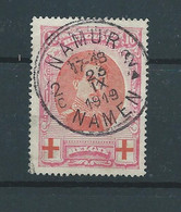 "N° 133 OBLITERE ""NAMUR"" - 1914-1915 Croix-Rouge"