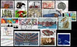 # 1998 Germania Federale - 19 Francobolli Usati - Oblitérés