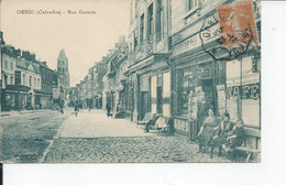 ORBEC   Rue Grande 1923 - Orbec