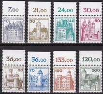 BRD, 1977 Nr. 913-920**  Burgen Und Schlösser (I), 8 Werte Alle Mit OR, Komplette Ausgabe - Neufs