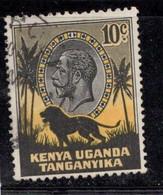 KUT Scott # 48 Used - KGV & Lion - Kenya, Uganda & Tanganyika