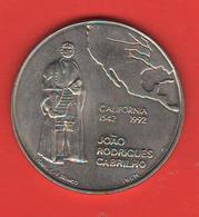 Portogallo 200 Escudos 1992 Portugal Rodrigues Cabrilmo Nikel Coin - Portugal