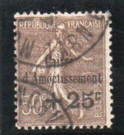 TIMBRE CAISSE D'AMMORTISSEMENT.  N° 267 - Used Stamps