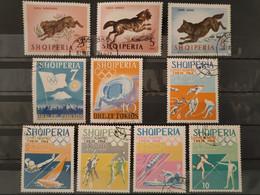ALBANIE - 1964 Lot 10 Timbres O (voir Scan) - Albania