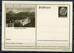 """German Empires 1940 GS Hindenburg Mi.Nr.P236/40-149-1-B1 """"Lernt Deutschland Kennen!-Innsbruck Gegen Süden""""1 GS - Enteros Postales"""