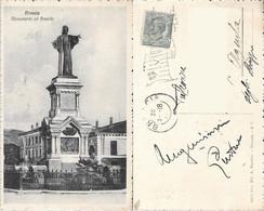 Brescia. Monumento Ad Arnaldo. Viaggiata 1918 - Sin Clasificación