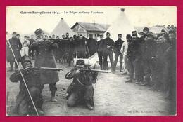 CPA Militaria - Champagné - Camp D'Auvours - Les Belges Au Camp D'Auvours - War 1914-18