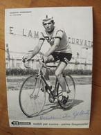 Cyclisme - Carte Publicitaire SALVARANI : VENDEMIATTI - Ciclismo