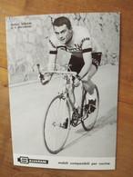 Cyclisme - Carte Publicitaire SALVARANI : MINIERI - Cycling