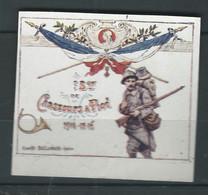 RARE Vignette Régimentaire DELANDRE France 1914 1918 WWI WW1 FRANCE Cinderella Poster Stamp - Vignettes Militaires
