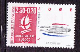N° 2679a  Albertville 92 J.O D'Hiver: Luge:  Un Timbres Neuf Sans Charnière - Nuevos