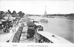 75 - Paris - La Seine Au Point Du Jour - Belle Animation - El Sena Y Sus Bordes