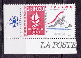 N° 2680a  Albertville 92 J.O D'Hiver: Curling:  Un Timbres Neuf Sans Charnière - Nuevos