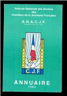 ANNUAIRE 1983 DES ANCIENS DES CHANTIERS DE LA JEUNESSE PAR DEPARTEMENT ET PAR SES 47 GROUPEMENTS - War 1939-45