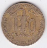 Afrique Occidentale Française Togo 10 Francs 1957 Bronze-Alu. KM# 8 - Togo