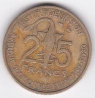Afrique Occidentale Française Togo 25 Francs 1957 Bronze-Alu. KM# 9 - Togo