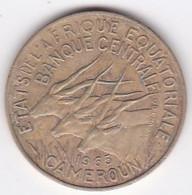Cameroun, Afrique Equatoriale Française, 10 FRANCS 1965 Bronze-nickel-aluminium. KM# 2a - Cameroon