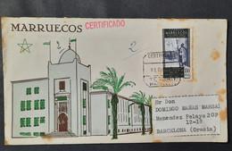 Marruecos  Carta - Maroc Espagnol