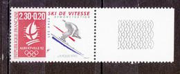 N° 2675a  Albertville 92 J.O D'Hiver: Vitesse Beau Timbres Neuf Sans Charnière - Nuevos