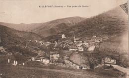 CPA  48 VILLEFORT VUE PRISE DU COULET - Villefort