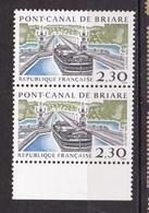 N° 2660 Série Touristique Pont-Canal De Briare:  Belle Paire De 2 Timbres Neuf - Nuevos