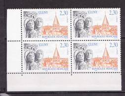N° 2657 Série Touristique Abbaye De Cluny:  Beau Bloc De 4 Timbres Neuf - Nuevos