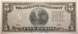 Philippines - 5 Pesos - 1942 - PICK 107b - SUP - Philippines