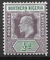 Northern Nigeria Mint Hinged * Single CA Wtm 1902 - Nigeria (...-1960)