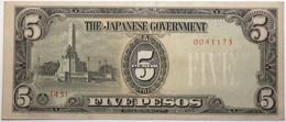 Philippines - 5 Pesos - 1943 - PICK 110a - SPL - Philippines