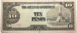 Philippines - 10 Pesos - 1943 - PICK 111a - TTB - Philippines
