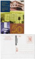 Brazil 1998 Postal Stationery Rachel Haddock Lobo School Of Nurses Unused - Enteros Postales