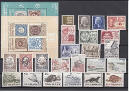 Denmark 1975 - Full Year MNH ** - Volledig Jaar